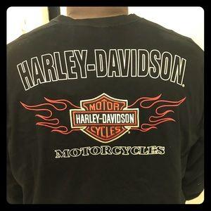 XL Harley-Davidson Longsleeve Tee w/ embroidery